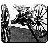 Gatling repetierge chütz mitragliatrice fuoco rapido cannone Guerra civile Guerre indiane americani Richard Jordan–Tappetino per mouse mousepad computer laptop pc # 16340