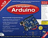 Lernpaket Mikrocontroller-Technik mit Arduino/Freeduino (2. Auflage) mit Platine, Bauteilen und CD-Rom