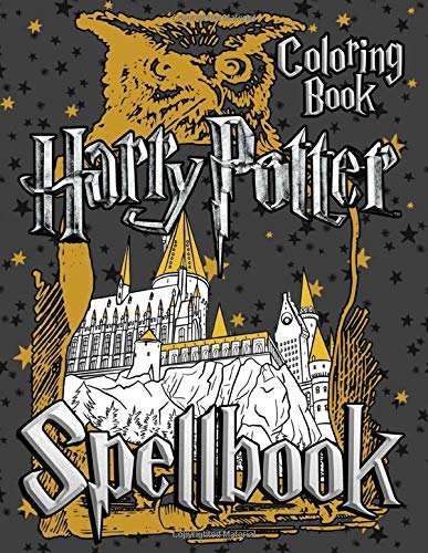 Harry Potter Spellbook Coloring Book: Collection of