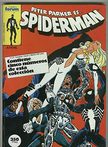 Spiderman volumen 1 retapado 122 al 125