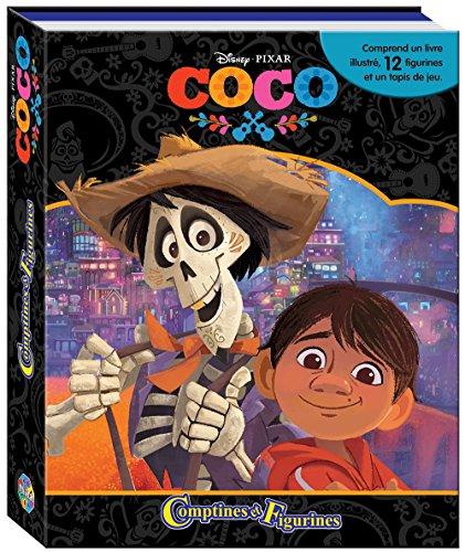 Phidal-Coco-Estuche Libro con 12Figuras + Alfombra de Juego, 9782764343487, Multicolor