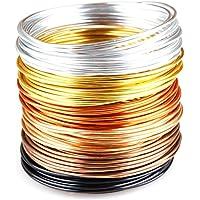 creac Raft Alu filo per gioielli set di Golden Autumn–6colori, 30m (5m per ogni colore)