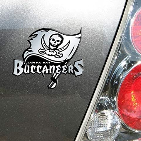Tampa Bay Bucs Buccaneers Chrome Car/Auto Team Logo Emblem by ProMark