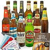 Biere der Welt 12 Flaschen | Männergeschenk'12x Biere aus aller Welt'