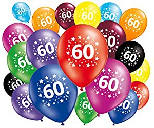 20 palloncini compleanno 60 anni casa e cucina for Cucinare anni 60