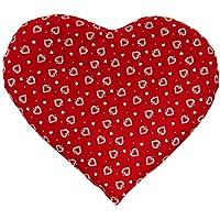 Kirschkernkissen Herz | ca. 30x25cm Herzen-rot | Wärmekissen | Körnerkissen | Ein charmantes Geschenk preisvergleich bei billige-tabletten.eu