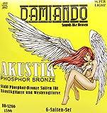Damiando Gitarrensaiten für Westerngitarre ★ Premium Stahl Phosphor Bronze Saiten für Western-Gitarre & Akustikgitarre - 6 Saiten-Set