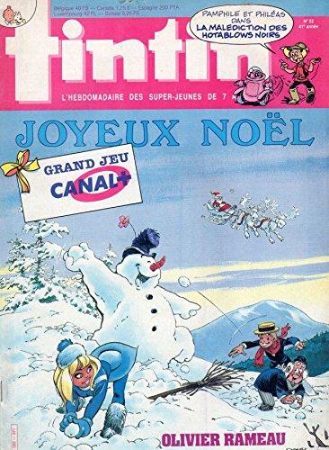 Tintin n° 589 - 23/12/1986 - Joyeux Noël/Olivier Rameau : Une poupée pour Leila/Grand jeu Canal+
