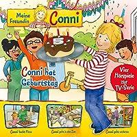 04: Conni hat Geburtstag / Conni backt Pizza / Conni geht in den Zoo / Conni geht verloren (Vier Hörspiele zur TV-Serie)