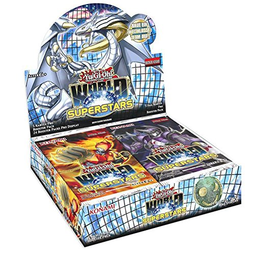 Preisvergleich Produktbild Yu-Gi-Oh! World Superstars Display (24 Booster)