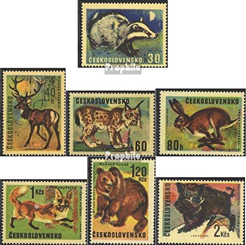 Prophila Collection Tschechoslowakei 1661-1667 (kompl.Ausg.) 1966 Jagdwild (Briefmarken für Sammler) Säuger Sonstige