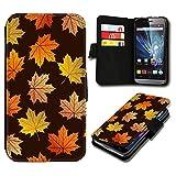 Book Style HTC Desire 310 Premium PU-Leder Tasche Flip