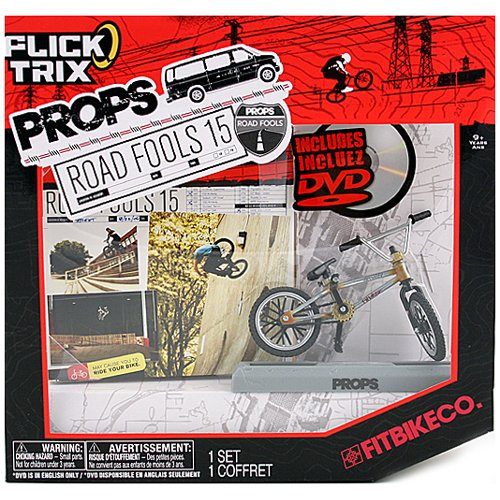Flick Trix - Props - Road Fools 15 - FITBIKECO. - inkl. DVD in englisch - (Finger-Bike / BMX) SPIN MASTER