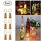 Tomshine Flasche Lichterkette, Flaschenlicht, Flaschenbeleuchtung, Kork Licht, 75cm Kupferdraht,...