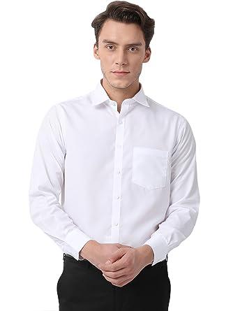 Pan America Men's Formal white Shirt: Amazon.in: Clothing ...