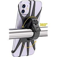 Cocoda Porta Cellulare Bici, Rotazione a 360° Porta Cellulare Moto, Anti Vibrazione Silicone Manubrio Universale, Porta…