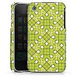 DeinDesign Coque Compatible avec Apple iPhone 3Gs Étui Housse Carré Vert Motif
