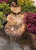 Bachlauf Wasserfall Gartenteich Bachlaufschalen Set