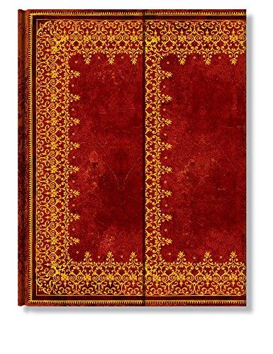 Faux Leder Gold - Notizbuch Groß Unliniert - Paperblanks