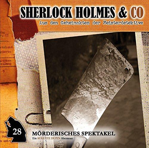 Sherlock Holmes & Co (28) Mörderisches Spektakel - Romantruhe 2016
