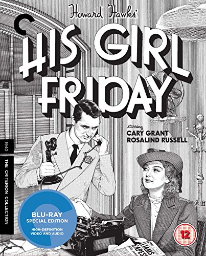 His Girl Friday [The Criterion Collection] [Blu-ray] [1941]