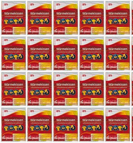 all-around24 20-erPack Wärmekissen Werunia GmbH, selbstklebend, Wärmepflaster, Schmerzpflaster (20 Stück)