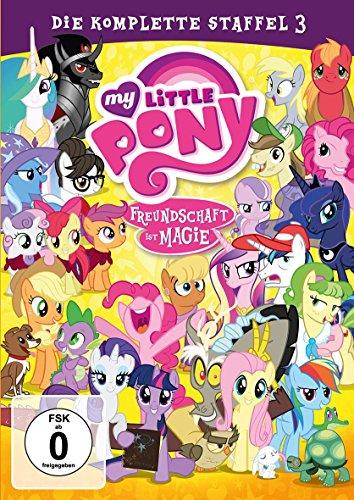 My Little Pony - Freundschaft ist Magie: Die komplette Staffel 3 [2 DVDs] -