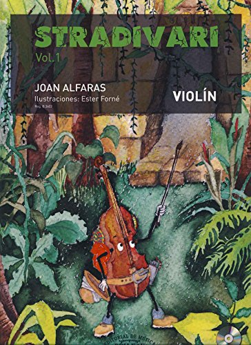 ALFARAS J. - Stradivari Vol.1 (Metodo) para Violin (Inc. CD)