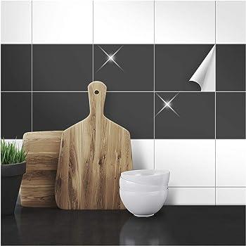 Amazonde FoLIESEN Fliesenaufkleber Für Bad Und Küche X Cm - Fliesen glänzend machen