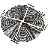 Reer 8305.3 - Rejilla protectora para macetas (tamaño grande), color marrón