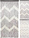 Carousel Home und Geschenke natur Perlen Bambus zum Aufhängen gemustert Fly Insektenschutz Tür Vorhang 90x 180cm ~ Design variiert