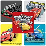 Disney Cars: Speed Circuit Stickers - Birthday and Theme Party Favors - 75 per Pack by SmileMakers