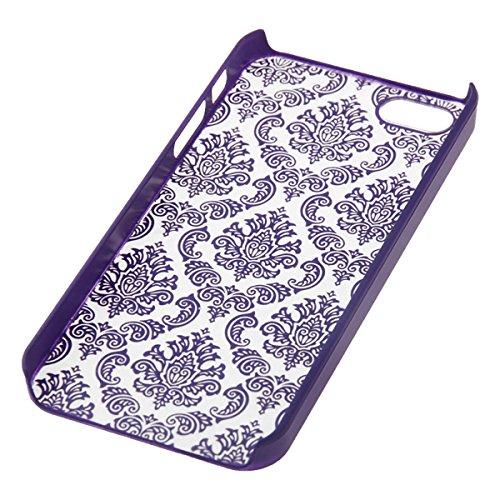 IPhone 6/6 plus motif paisley embossed motif case lilas
