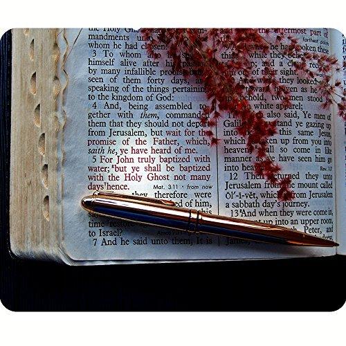 Inspirational fede Tappetino per il mouse versi della Bibbia grande idea regalo da D (Fede Regalo)