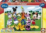 Educa 14209 La Casa de Mickey - Puzzle de cartón (100 piezas)