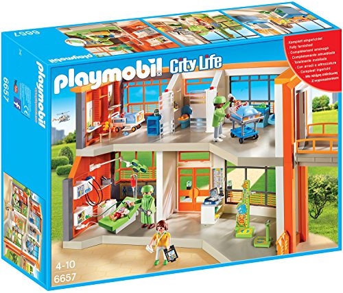 Playmobil 6657 - Kinderklinik mit Einrichtung -