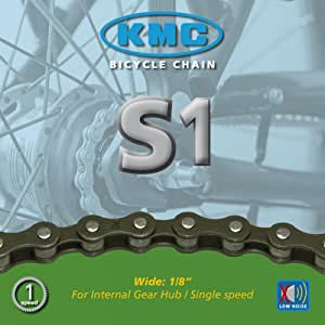 Fahrrad Nabenschaltungskette von M-Wave 112 Glieder Singlespeed ½  x 1//8 Kette
