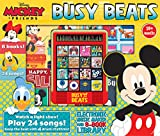 Disney Mickey & Friends Busy Beats Electronic Music Maker & 8-Book Library Read Sing and Drum (Mickey and Minnie) Phoenix International Publications 9781503725621 Board Books