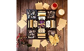 Crack of Dawn Crafts Rakhi Explosion Box Greeting Card - Glam Gala for Sister