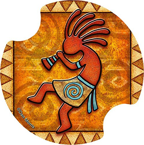 Thirstystone Kokopelli Car Cup Holder Coaster, by Thirstystone Carsters Set