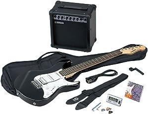 Yamaha EG 112 GPII H BL E-Gitarrenset EG 112 inkl. 15 Watt Amp GA15, Gigbag, Gurt, Tuner YT100, Saiten, 3 Plecs, Saitenkurbel