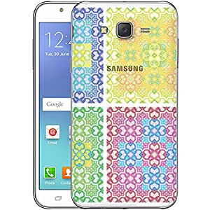 Digione designer Back Replacement Texture Plastic Cover Panel Battery Cover Snap on Case Cover for Samsung Galaxy J7 2015 ID:J7850