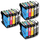 OfficeWorld Compatible Cartouche d'encre Replacement pour Brother LC223 pour Brother...