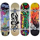 Hansson.Sports Skateboard Komplett Board 79x20cm - Motiv B