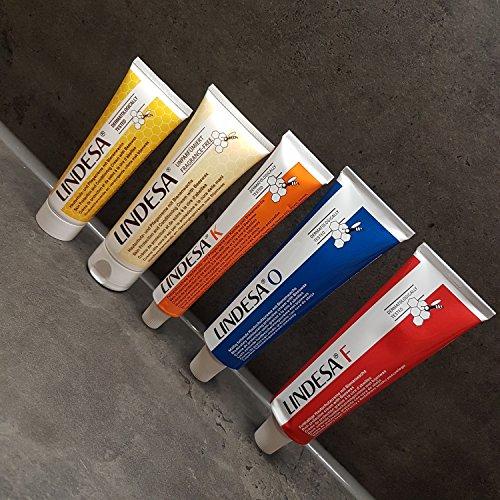 1 Pack Lindesa(Normal,unparf,Kamille, O und F Handcreme Hautschutzcreme gemischt
