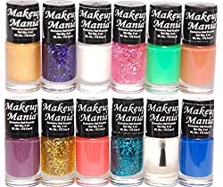 Makeup Mania Nail Polish Set of 12 Pcs (Multicolor Set  87)