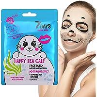 Maschera Viso in Tessuto Animale 1 pz Foca Per tutti i Tipi di Pelle Purificante Tonificante SPA Personale Estratto di…
