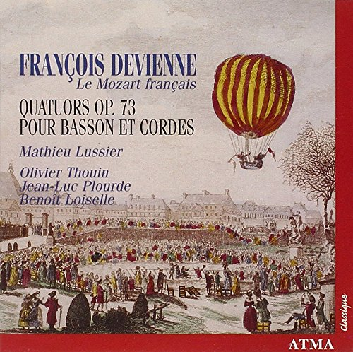 Devienne/Quartette mit Fagott