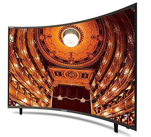 Mitashi 123.2 cm (48.5 inches) MiCE050v34 4KS Ultra HD 4K Smart Curved LED TV