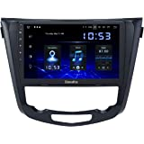 Dasaita Android 10.0 Radio Bluetooth para Coche Carplay para Nissan X-Trail Qashqai j11Rouge 2014-2018 Autoradio Coche Pantal